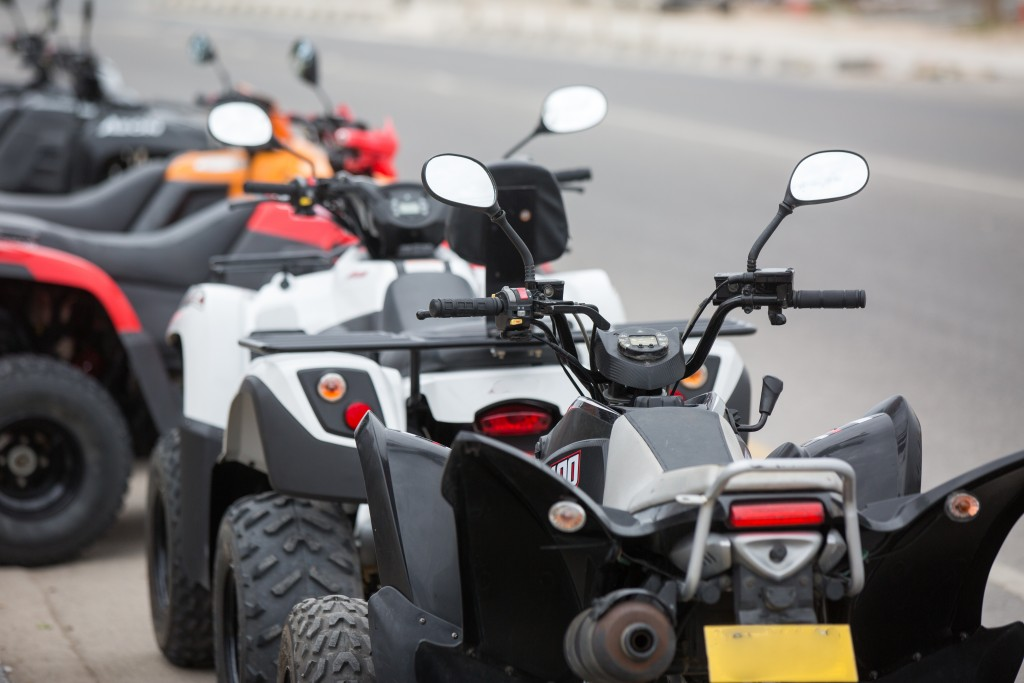 ATV's on the road