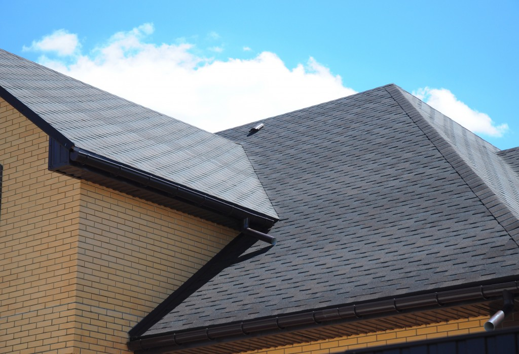 dark gray roofing