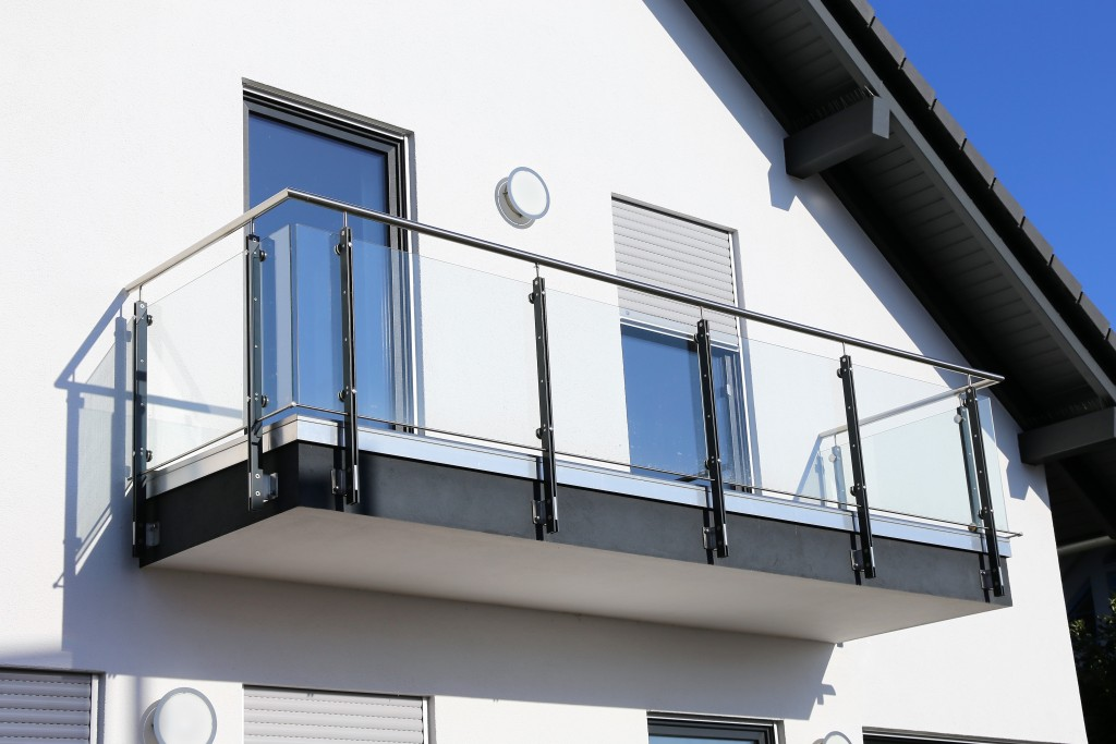stainless steel balcony