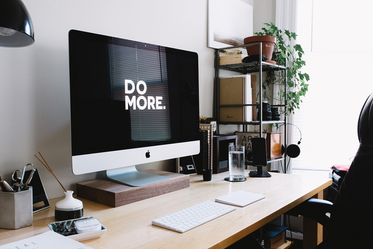 do more and be productive concept